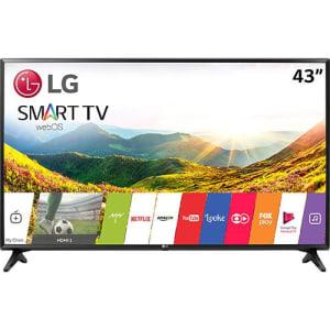 Saiba mais ➤ Smart TV LED 43″ LG 43lj5500 Full HD com Conversor Digital Wi-Fi integrado 1 USB 2 HDMI Com Webos 3.5 Sistema de Som Virtual Surround Plus