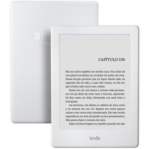 CLIQUE ➤➤ E-Reader Kindle 8ª Geração Wi-Fi com Tela Sensível ao Toque Branco – AO0512   oferta com preço barato em Promoção no site de loja