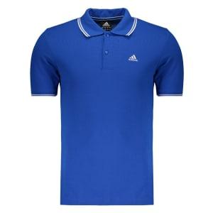 Saiba mais ➤ Polo Adidas Essentials Azul