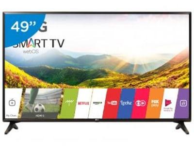 Oferta ➤ Smart TV LED 49″ LG Full HD 49LJ5550 webOS – Conversor Digital 1 USB 2 HDMI 49″ – Bivolt   . Veja essa promoção