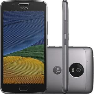 CLIQUE ➤➤ Smartphone Moto G 5 Dual Chip Android 7.0 Tela 5″ 32GB 4G Câmera 13MP – Platinum   oferta com preço barato em Promoção no site de loja