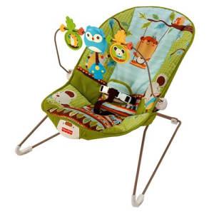 Oferta ➤ Cadeira de Descanso Vibratória Fisher-Price Diversão no Bosque X7037 – 0 a 11kg   . Veja essa promoção