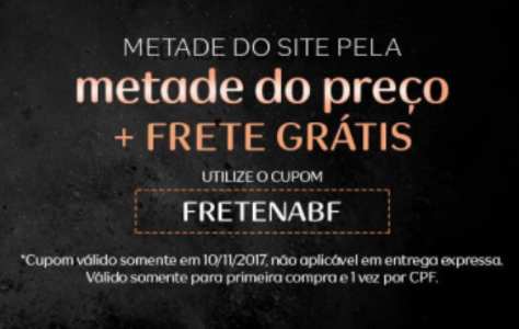 44de16335 Black Friday Natura! Metade do Site pela Metade do Preço + Frete Grátis ou  10% de Desconto! em Promoção no Oferta Esperta