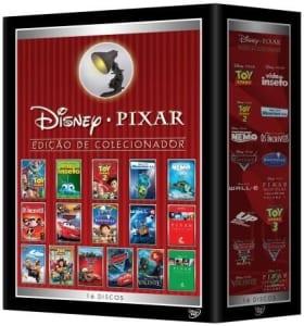 CLIQUE ➤➤ Disney Pixar – Edição de Colecionador – 16 DVDs   oferta com preço barato em Promoção no site de loja