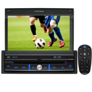 Saiba mais ➤ DVD Player Automotivo Pósitron SP6700 DTV com Tela Touch Screen de 7″, TV Digital, USB, Leitor SD, Entrada Auxiliar e Controle Remoto