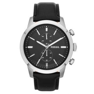 CLIQUE ➤➤ Relógio Masculino Fossil, Analógico, Pulseira de Couro, Caixa de 4,2 cm, Resistente à Água 5 Atm – FS4866/0PN   oferta com preço barato em Promoção no site de loja