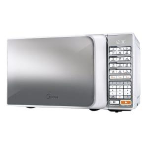 Oferta ➤ Micro-ondas Midea Liva MTAE21 20 Litros Branco Espelhado 110V   . Veja essa promoção