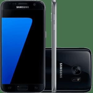 CLIQUE ➤➤ Smartphone Samsung Galaxy S7 Android 6.0 Tela 5.1″ 32GB 4G Câmera 12MP – Preto   oferta com preço barato em Promoção no site de loja