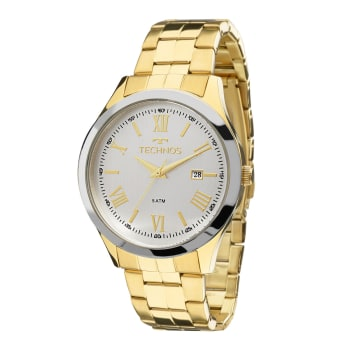 f1fee2a64a5 Relógio Technos Feminino Dourado Analógico 2115MGM 4K em Promoção no ...