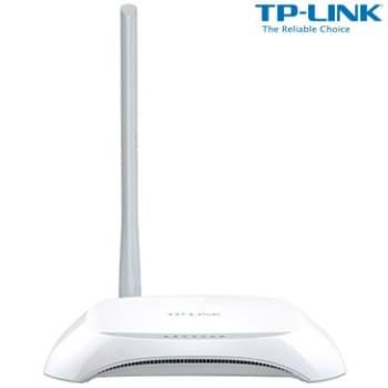 Roteador Wireless TP-Link TL-WR720N com Velocidade de 150Mbps, Banda com Frequência 2.4GHz (11N), 1 Antena Externa e 2 Portas LAN