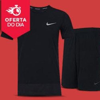234708317c Kit - Camiseta Nike Breathe Rapid + Bermuda Nike 9In Monster Mesh -  Masculina