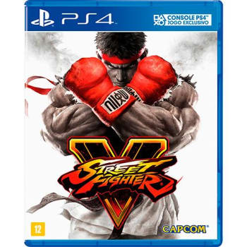 Game Street Fighter V + DLC Exclusiva - PS4