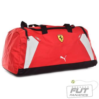 89aed8694 Mala Puma Scuderia Ferrari Medium Teambag Vermelha em Promoção no ...