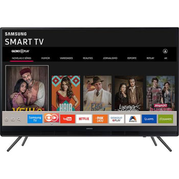 "Smart TV LED 49"" Samsung UN49K5300AGXZD Full HD com Conversor Digital Integrado Wi-Fi 2 HDMI 1 USB com Tizen Gamefly Áudio Frontal"