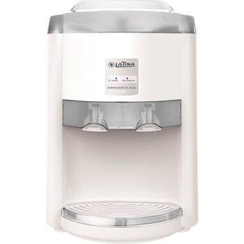 Purificador De Água Eletronico Refrigerado Bivolt Latina - Pa335 Branco c/ Fume claro