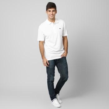f89a3e4431 Camisa Polo Lacoste Super Light Branco - Zattini em Promoção no ...