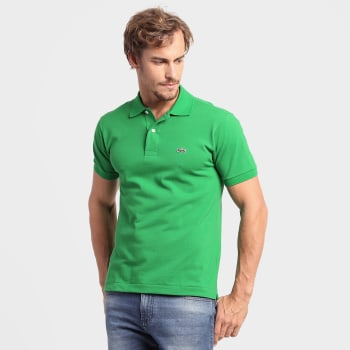 e840ead5b1773 Camisa Polo Lacoste Original Fit Masculina em Promoção no Oferta Esperta