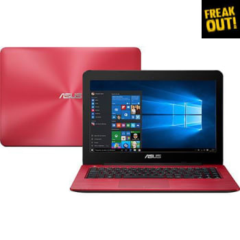 "Notebook ASUS Z450LA-WX007T Intel Core i5 4GB 1TB LED 14"" Windows 10 Vermelho"