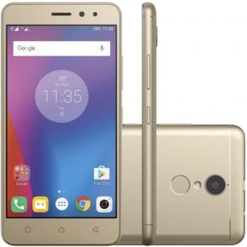 Smartphone Lenovo Vibe K6 32GB 4G Dual Desbloqueado Dourado
