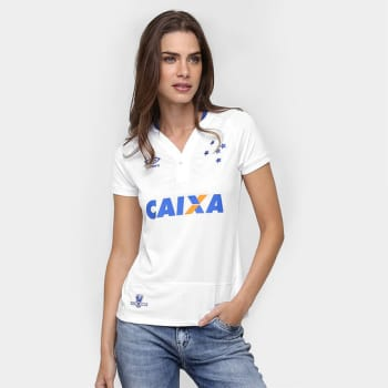 e5046066b4 Camisa Cruzeiro II 2016 s nº Torcedor Umbro Feminina em Promoção no ...