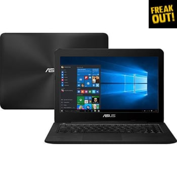 "Notebook ASUS Z450LA-WX008T Intel Core i5 4GB 1TB LED 14"" Windows 10 - Preto"