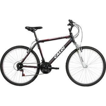 a1f218f4d2 Bicicleta Caloi Aluminum Sport Aro 26 21 Marchas MTB - Preto em ...