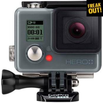 Câmera Digital GoPro Hero Plus 8.1MP com WiFi Bluetooth e Gravação Full HD Preta