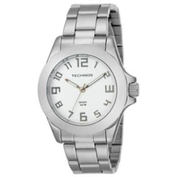 b16a43e68a9e1 Relógios Masculino Technos Analogico Pulseira Aço Caixa 1,1 Resistente Á  Água 5 Atm (50Mtrs) - 2035Vy 1K