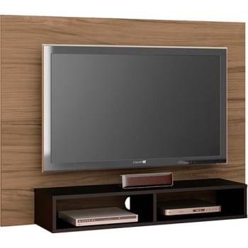 Painel para Tv até 47 Flash II com Suporte Chocolate/Ébano - at.home
