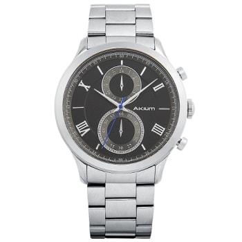 5edddca5bc3 Relógio Akium Masculino Aço - BLACK-03E53GB01 em Promoção no Oferta ...
