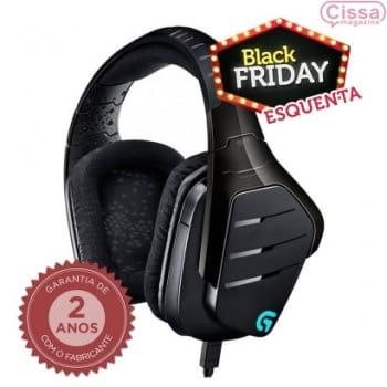 Headset Gamer Logitech Artemis Spectrum Com Fio G633 Preto