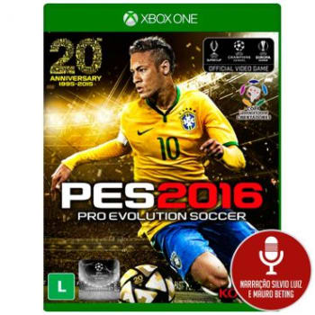 Jogo Pro Evolution Soccer 2016 (PES 16) para Xbox One (XONE) - Konami