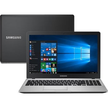 Notebook Samsung Expert X30 Intel Core i5 8GB (2GB de Memória Dedicada) 1TB LED HD 15,6'' Windows 10 - Preto