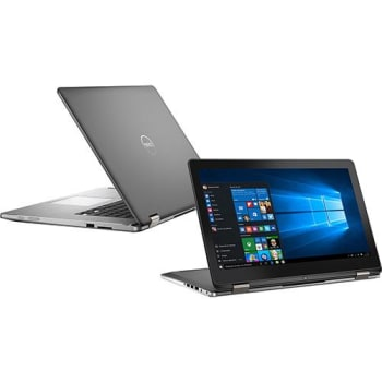 "Notebook 2 em 1 Inspiron i15-7568-A20 Intel Core 6 I7 8GB 1TB LED 15"" W10 Preto - Dell"