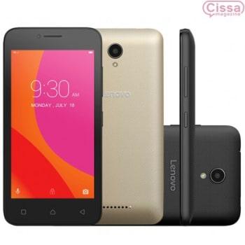 Smartphone Lenovo Vibe B Dual 4G A2016B30 Desbloqueado Preto