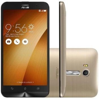 Smartphone Asus Zenfone Go Live DTV 16GB ZB551KL Desbloqueado Dourado