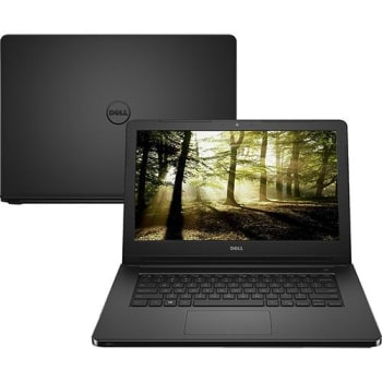 "Notebook Inspiron I14-5452-D03P Intel Pentium Quad Core 4GB 500GB Led 14"" Linux Preto - Dell"
