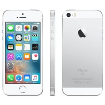 "iPhone SE Apple com 16GB, Tela 4"", iOS 9, Sensor de Impressão Digital, Câmera iSight 12MP, Wi-Fi, 3G/4G, GPS, MP3, Bluetooth e NFC - Prateado"