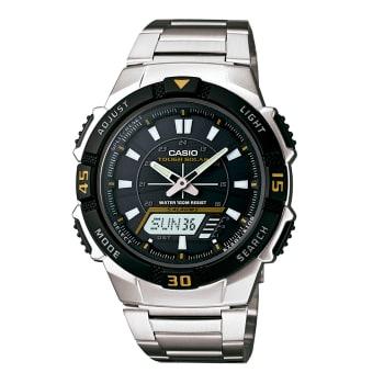 381a76f4699 Relógio Casio Masculino Prata Anadigi AQ-S800WD-1EVDF em Promoção no ...