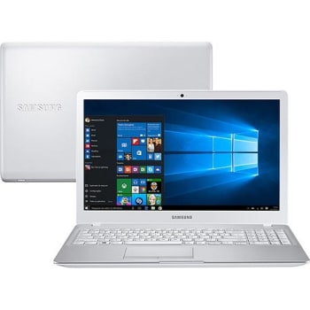 Notebook Samsung Expert X50 Intel Core i7 8GB (2GB de Memória Dedicada) 1TB LED HD 15,6'' Windows 10 - Branco