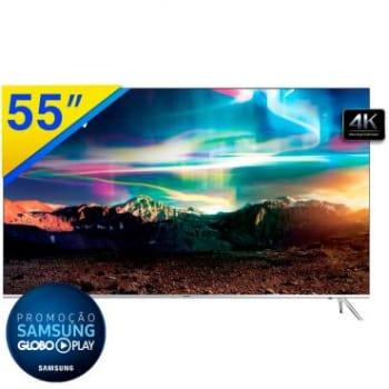 """Smart TV LED 55"""" Samsung SUHD 4K com Pontos Quânticos, HDR 1000, Tizen, One control, Design 360° Ultra slim, Conteúdo Smart 4K, HDMI, USB - 55KS7000"""