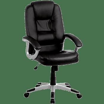 Cadeira Presidente 6158H Preta - Classic Home