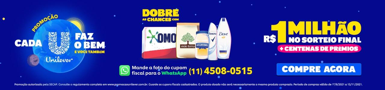 Unilever promoção