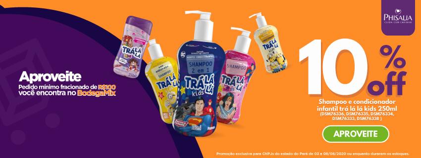 PA - PHISALIA -Shampoo e condicionador 10% OFF