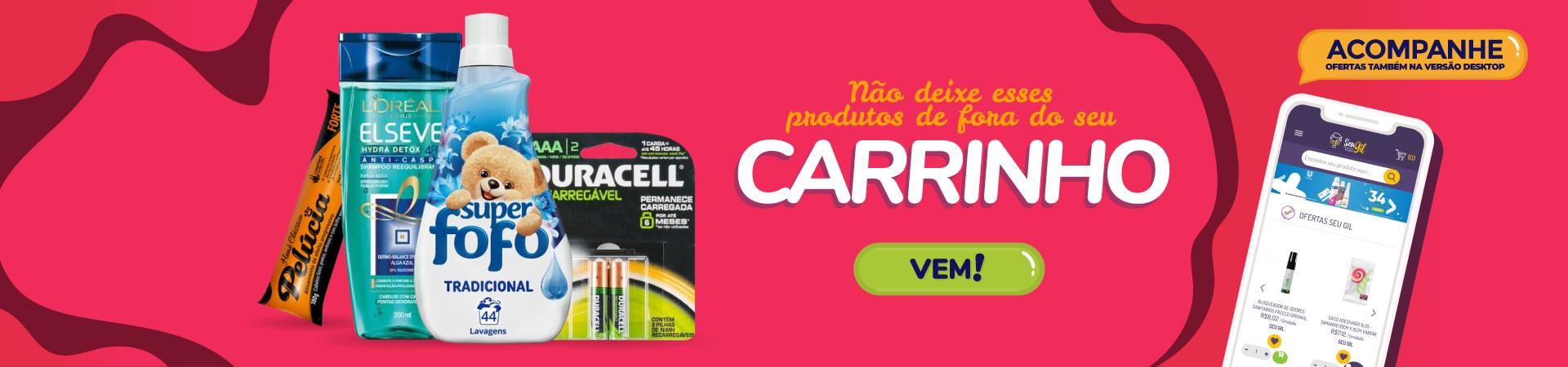 Banner Carrinho