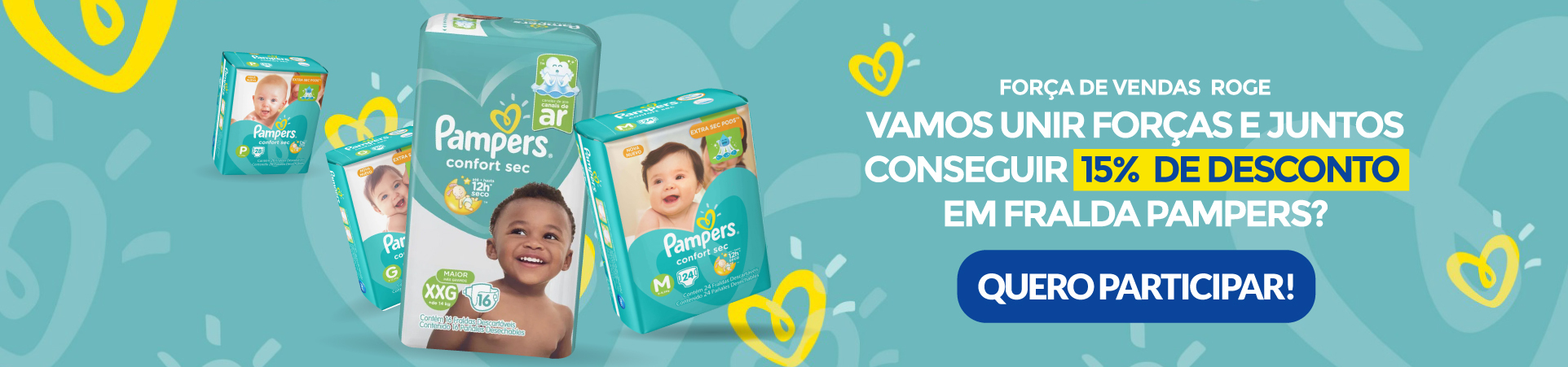Banner P&G Pampers