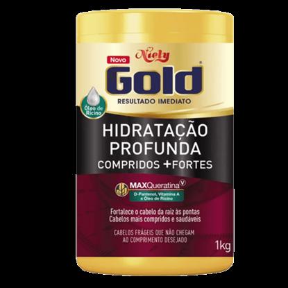Imagem de Creme tratamento niely gold 1kg compridos+fortes