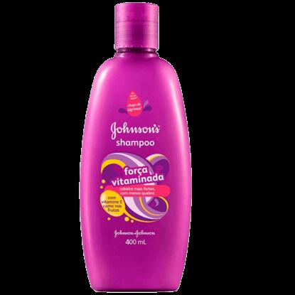 Imagem de Shampoo infantil johnson johnson 400ml força vitaminada
