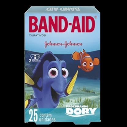 Imagem de Curativo transparente band aid c/25 dory