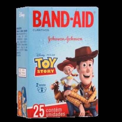 Imagem de Curativo transparente band aid c/25 toy story